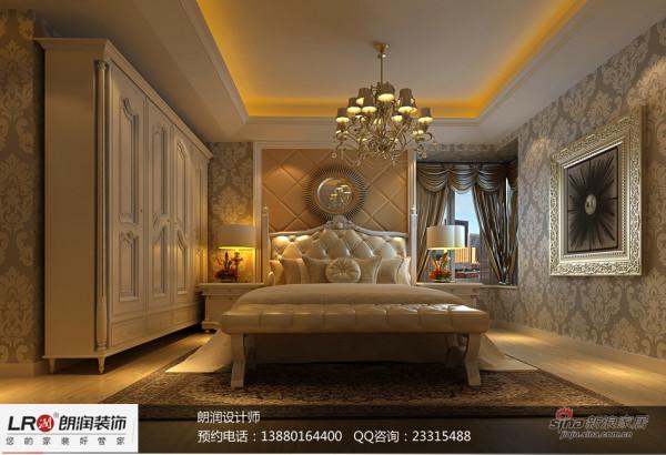 浅啡网石材加以米黄墙纸的运用把整个家温馨