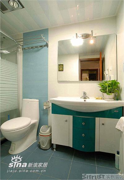 欧式 三居 卫生间图片来自用户2557013183在实创装饰中艺家属楼12的分享