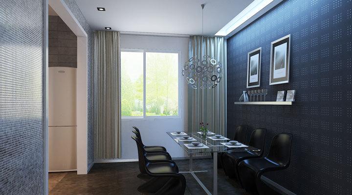 简约 三居 餐厅图片来自用户2737759857在晋合金桥世家99的分享