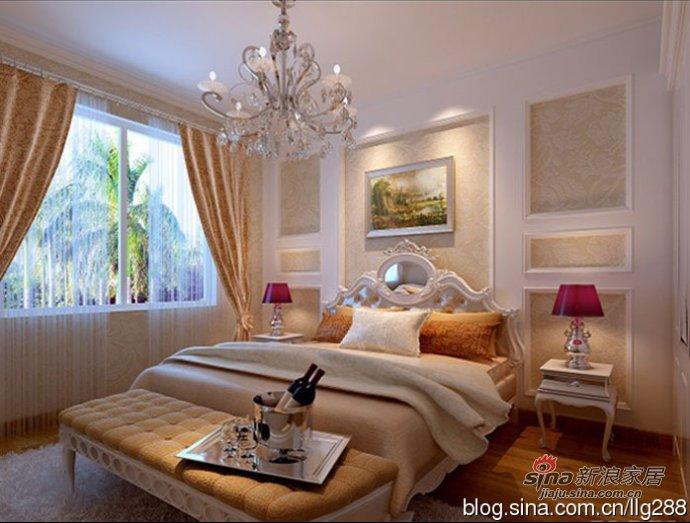 欧式 二居 卧室图片来自用户2746953981在我的专辑559544的分享
