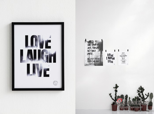 其他 其他 其他图片来自用户2557963305在巧妙装饰 简单的黑白字母相框88的分享