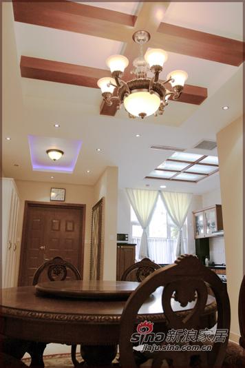 田园 别墅 餐厅图片来自用户2737791853在中央公馆--美式田园风格84的分享