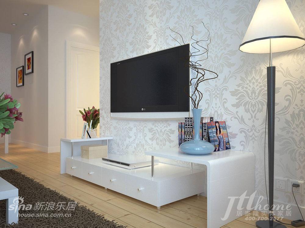 简约 三居 客厅图片来自用户2557979841在恬静淡雅的家居装饰风格40的分享