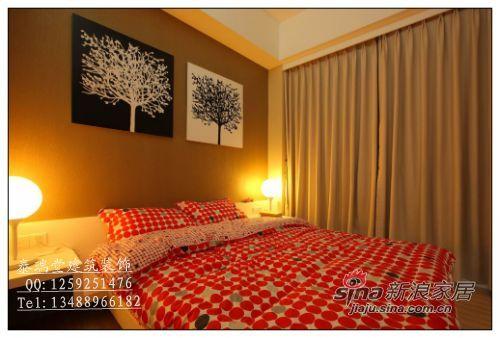 中式 四居 卧室图片来自用户1907659705在16万搞定180平新中式新居94的分享