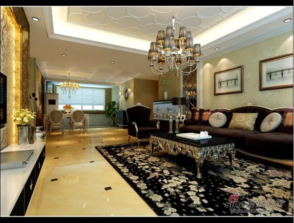 新古典欧式客厅设计
