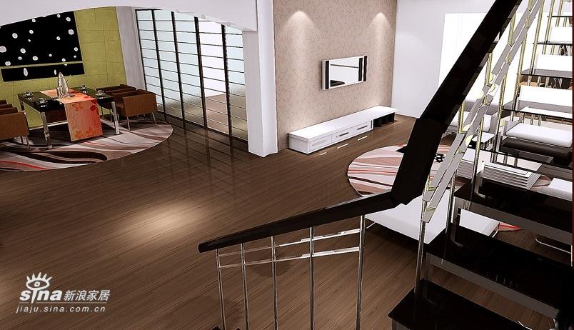 简约 复式 客厅图片来自用户2737735823在万科四季花城现代简约设计73的分享