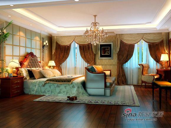 欧式 四居 卧室图片来自用户2746948411在奢华风打造国风上观设计高贵不失典雅38的分享