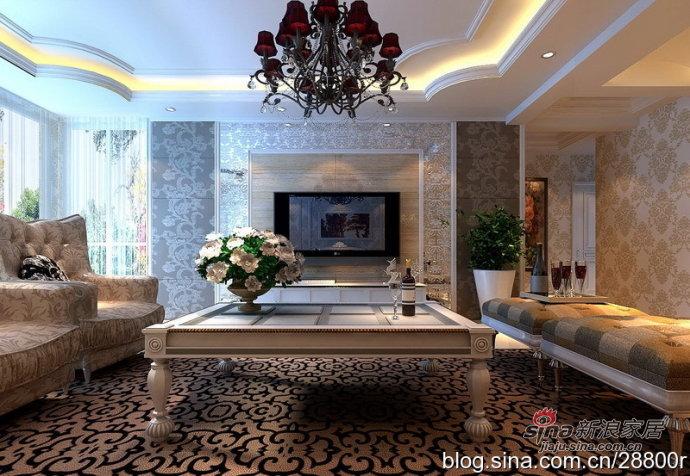 欧式 别墅 客厅图片来自用户2772873991在200平演绎华丽透亮现代欧式20的分享