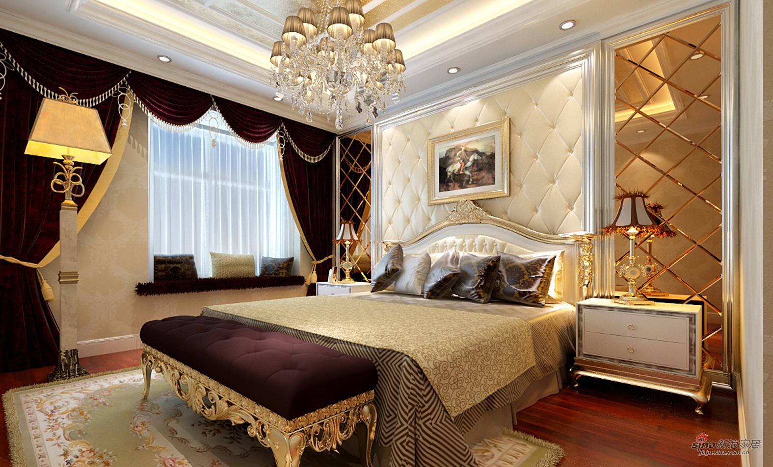 欧式 三居 卧室图片来自用户2757317061在熟女魅力之【欧式情节】33的分享