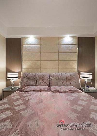简约 二居 卧室图片来自装修微日记在【高清】10万装85平简约时尚婚房62的分享