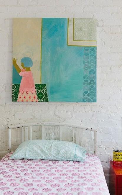 喜欢墙上那幅油画