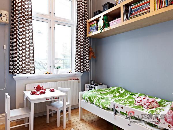 儿童房间虽小,但却最温馨,都摆设着各种玩