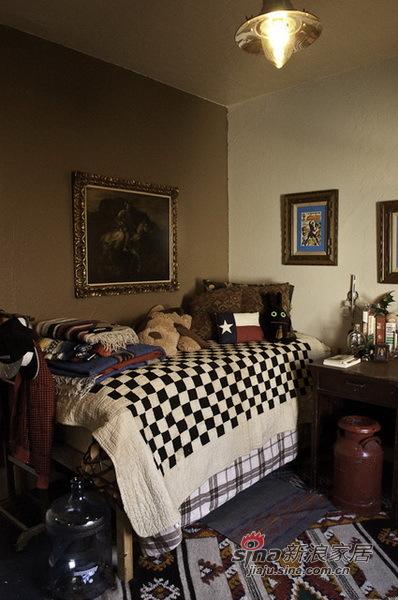 简约 一居 卧室图片来自用户2737782783在购物狂60平小窝13的分享