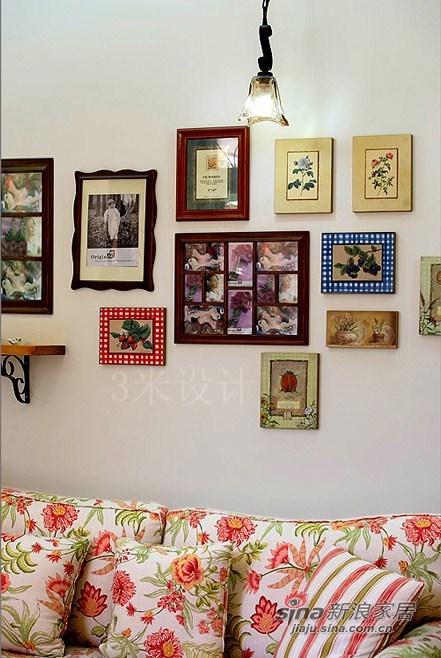 田园 三居 客厅图片来自用户2737946093在纯情少女70平田园3居花8万80的分享