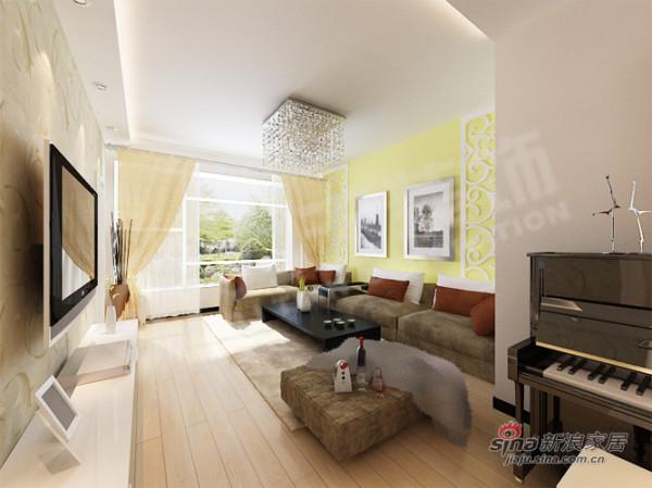 简约 三居 客厅图片来自用户2557010253在125平简约时尚之都38的分享