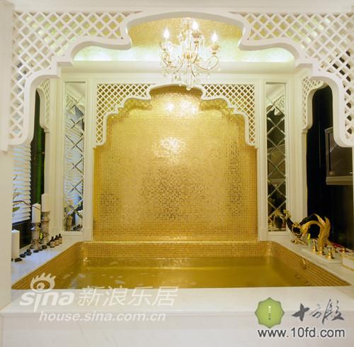 印度风格金箔浴室