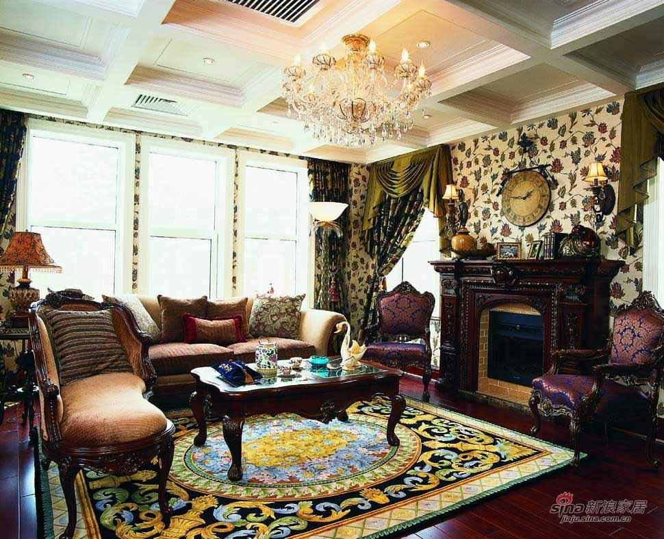 欧式 别墅 客厅图片来自用户2745758987在金地名京98的分享