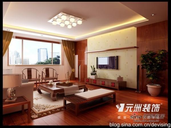 200平米清丽雅致中式【元洲装饰】婚房设
