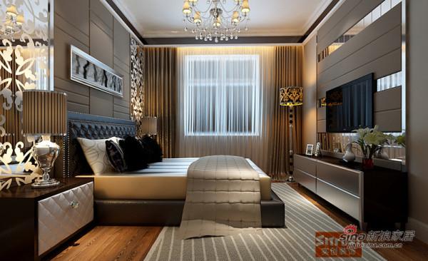 参考案例:简欧风格|卧室效果图
