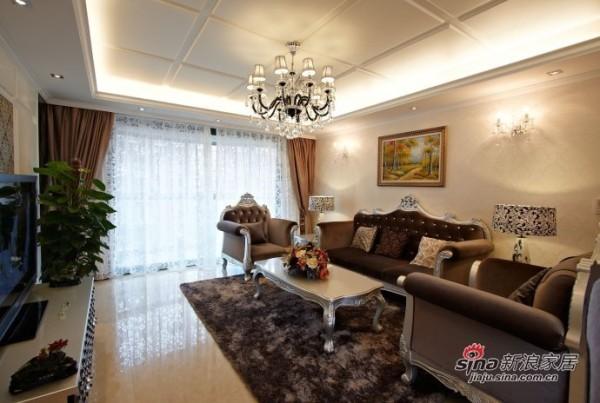 新古典欧式客厅