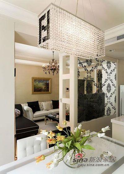 现代 复式 餐厅图片来自佰辰生活装饰在简约大气98平舒适自然美家19的分享