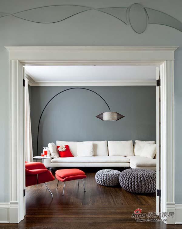 简约 二居 客厅图片来自用户2738845145在开放而简约的老宅翻新85的分享