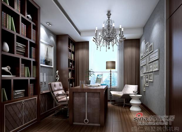其他 别墅 书房图片来自用户2558746857在新古典主义风格在别墅家居生活的应用50的分享
