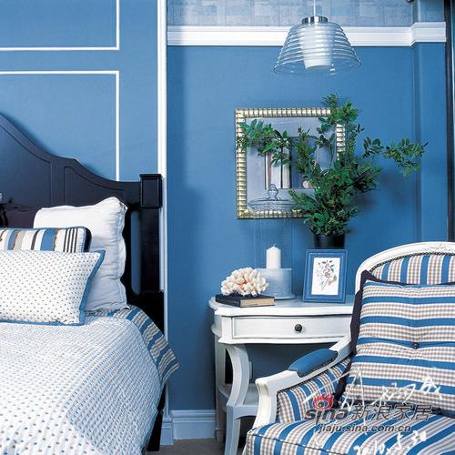 地中海 三居 卧室图片来自用户2756243717在曲江千林郡  田园风格 三居室32的分享