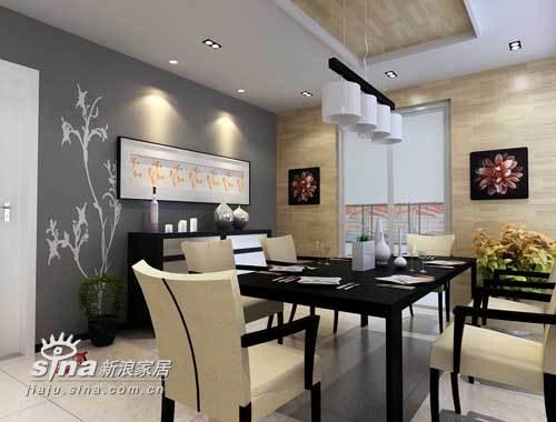 简约 三居 餐厅图片来自用户2738829145在橡树湾166平设计方案94的分享