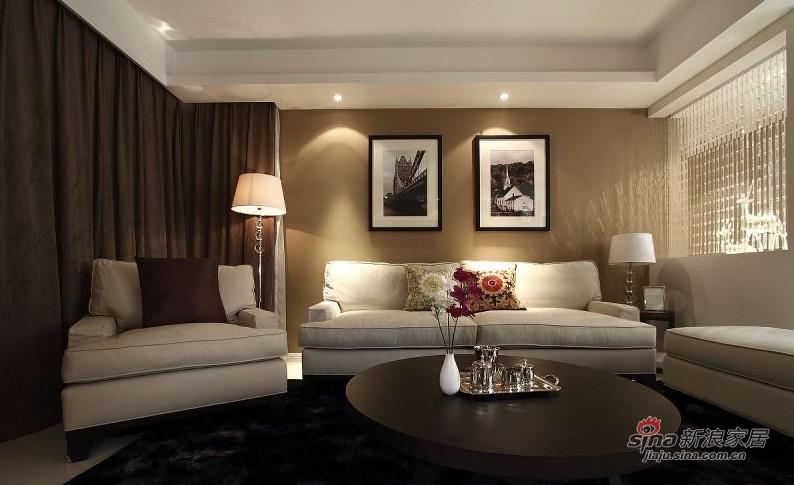 简约 二居 客厅图片来自用户2738093703在6.7w打造后现代美式风格32的分享