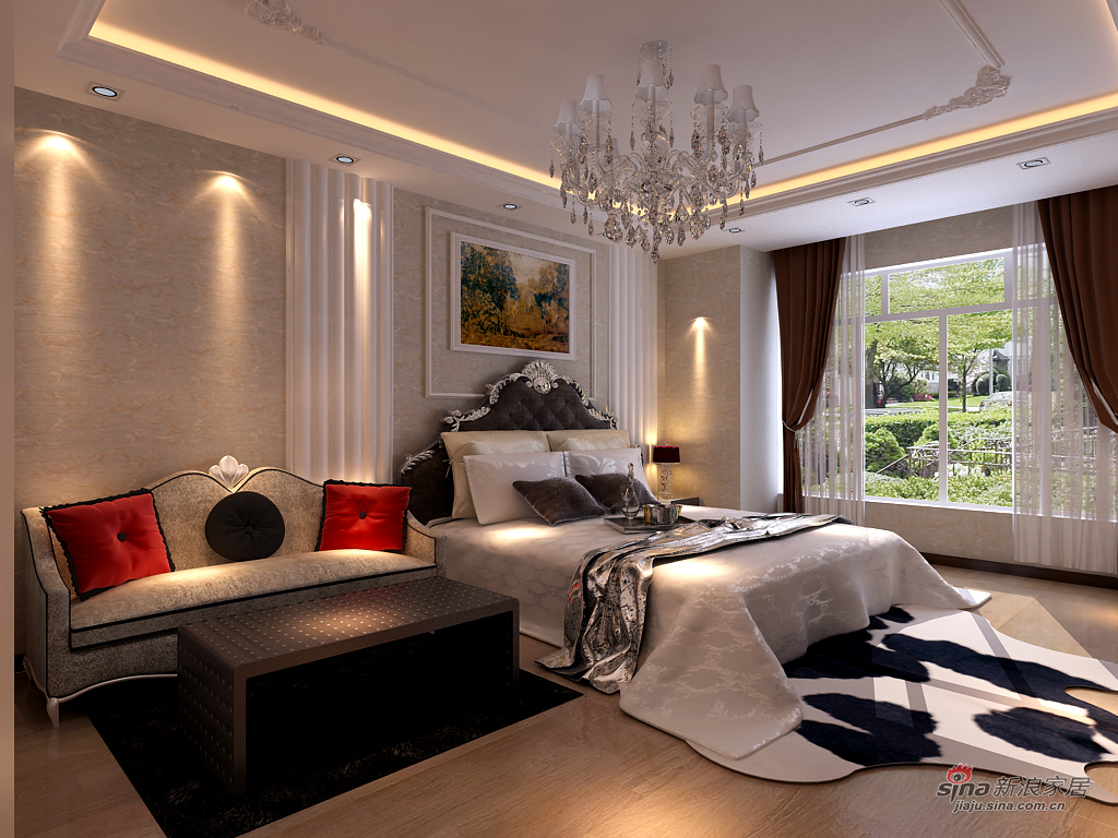 北欧 一居 卧室图片来自用户1903515612在哈西万达小户型装修46的分享