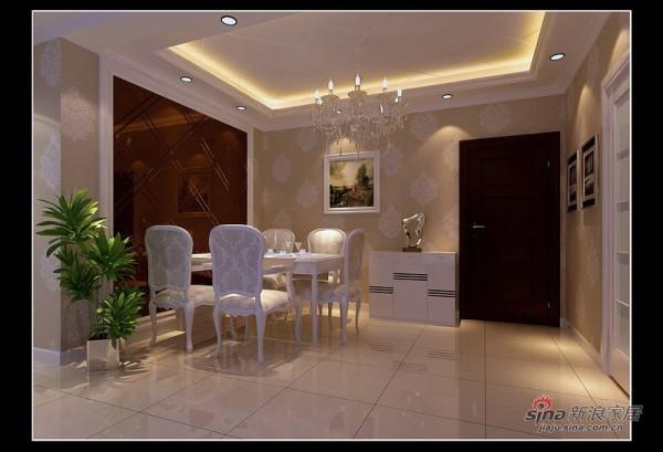 简约 二居 餐厅图片来自用户2558728947在5.5万精装85㎡时尚简约2居室27的分享