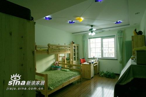 欧式 别墅 儿童房图片来自用户2557013183在实创装饰加州水郡连排别墅58的分享