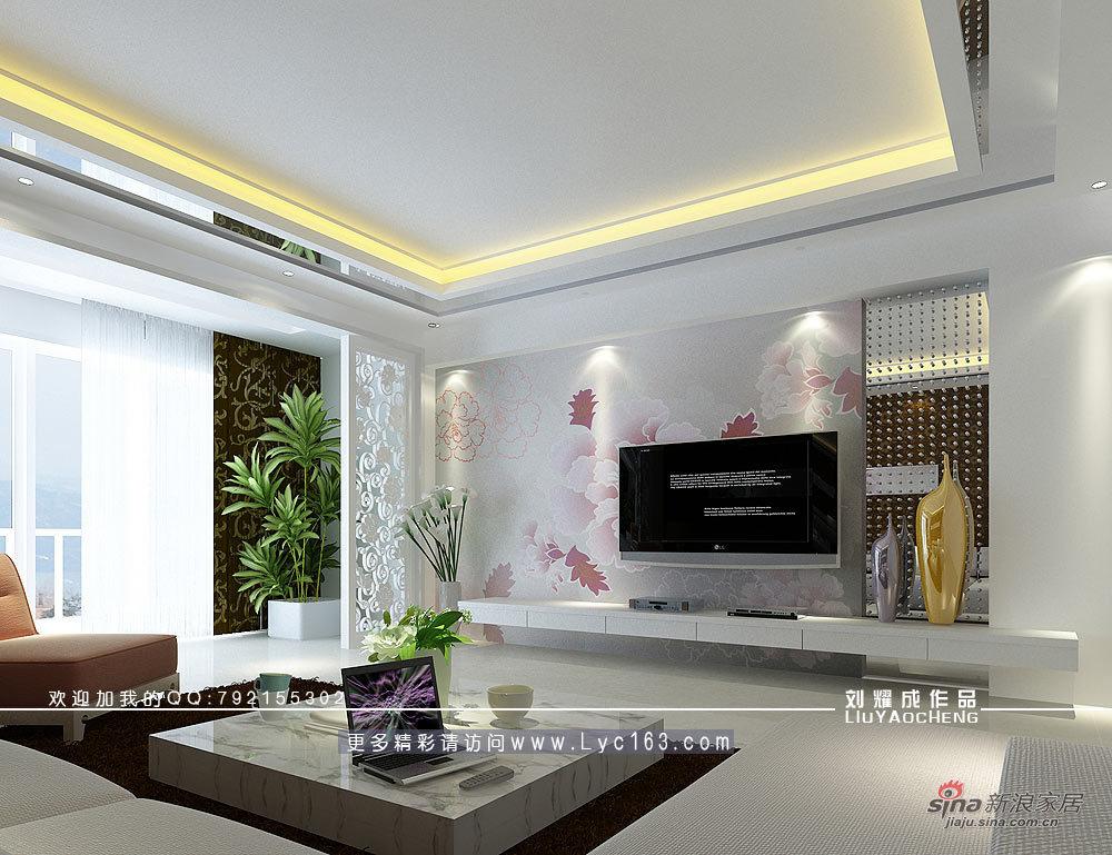 简约 四居 客厅图片来自用户2738820801在花开的声音84的分享