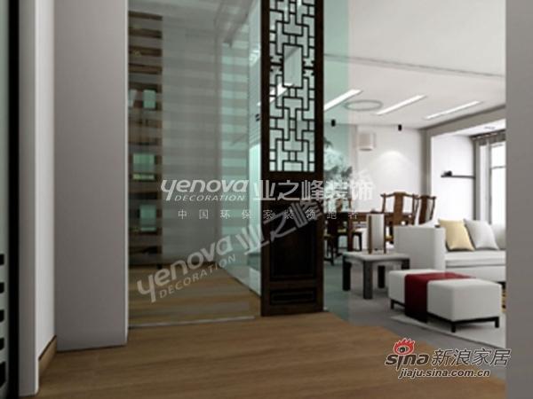 中式 三居 其他图片来自用户1907658205在假日风景 165平 三室两厅高雅新中式35的分享