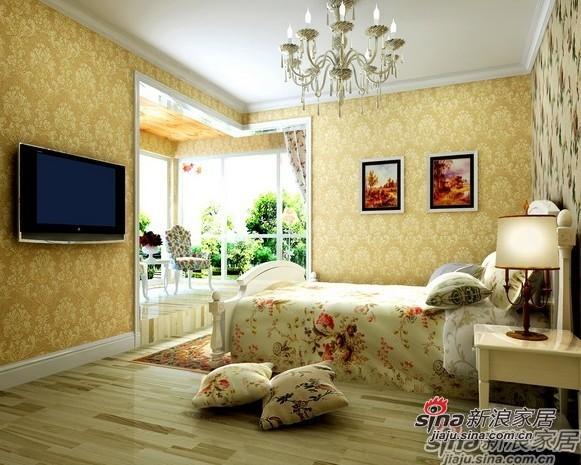 田园 二居 卧室图片来自用户2737946093在5.5万装扮90平欧式风格两居室47的分享