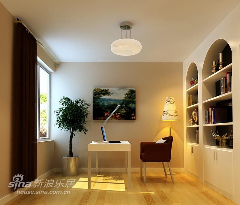 简约 二居 书房图片来自用户2737735823在现代简约-96平米50的分享