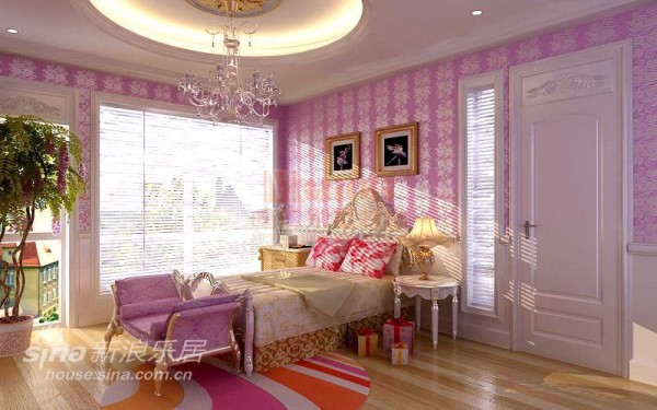 女儿卧室设计