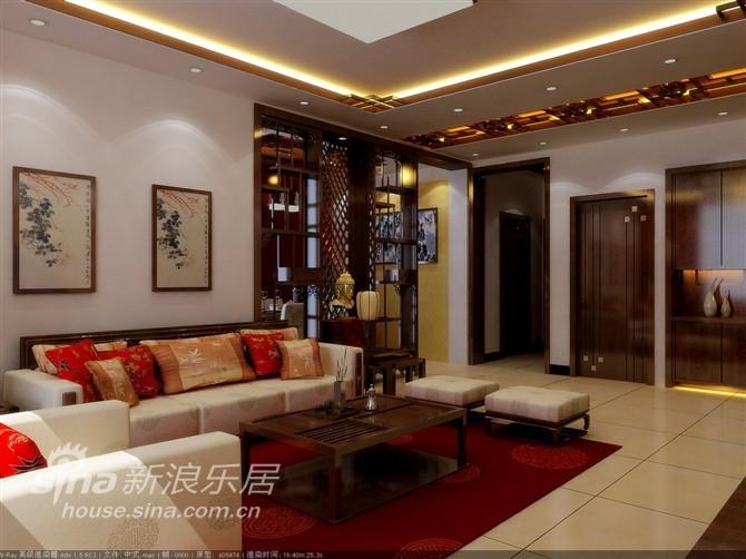 中式 二居 客厅图片来自用户2748509701在翠福园小区中式两居77的分享