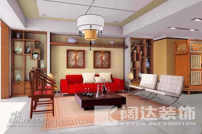简约 一居 客厅图片来自用户2738820801在新中式64的分享
