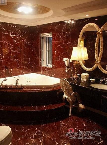 简约 别墅 卫生间图片来自用户2557010253在390平欧式别墅仅花19万元34的分享