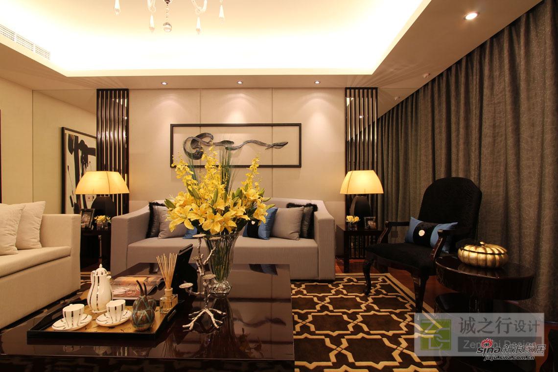 其他 三居 客厅图片来自用户2558746857在诚之行设计-上海仁恒怡庭江湾城样板房41的分享