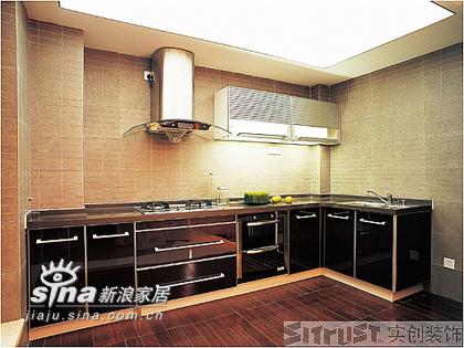 简约 三居 厨房图片来自用户2737782783在实创装饰万科四季花城50的分享
