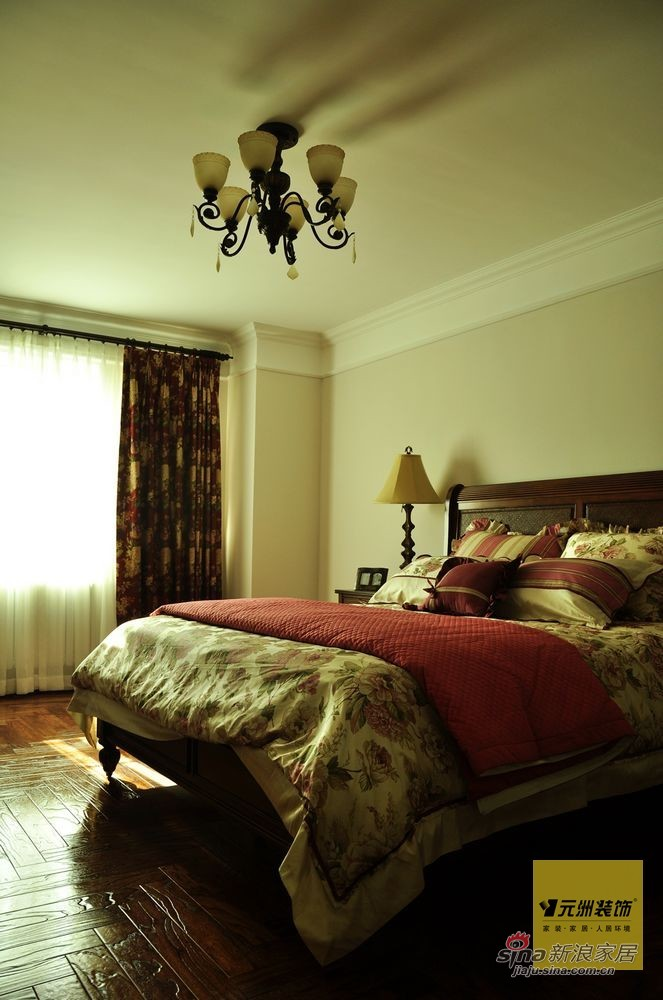欧式 别墅 卧室图片来自用户2772873991在【多图】远洋傲北380平米欧式风格设计97的分享