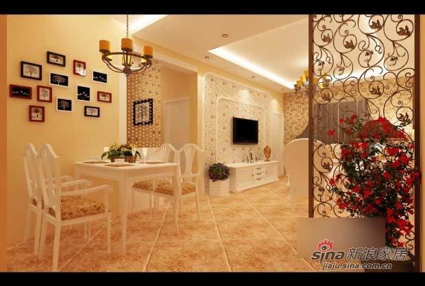 田园 二居 客厅图片来自用户2557006183在6万混搭85平田园乡村风小屋15的分享