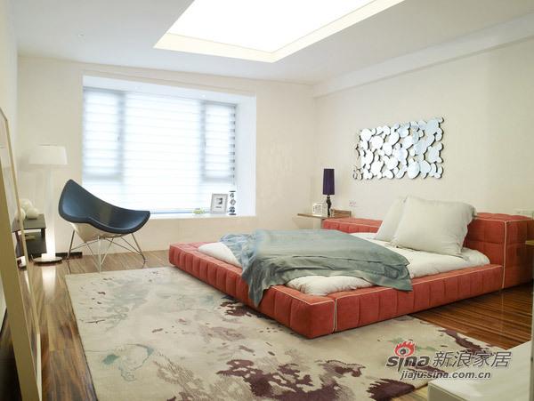 欧式 三居 卧室图片来自用户2745758987在230㎡白与简——锦园样板房55的分享