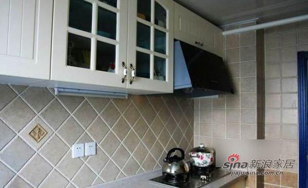 田园 二居 厨房图片来自用户2737946093在巧手MM改装90平温馨田园小窝93的分享