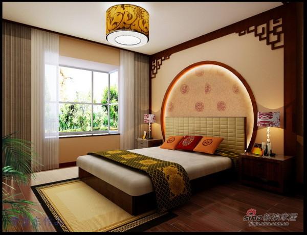 中式风格卧室设计