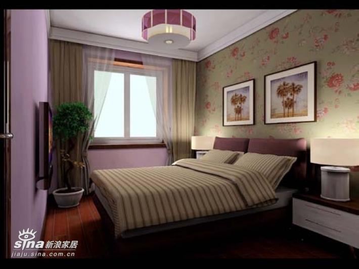 简约 三居 卧室图片来自用户2556216825在翠城馨园经典设计51的分享