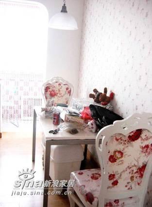 欧式 一居 餐厅图片来自用户2746948411在手绘设计可爱酥心公主屋23的分享